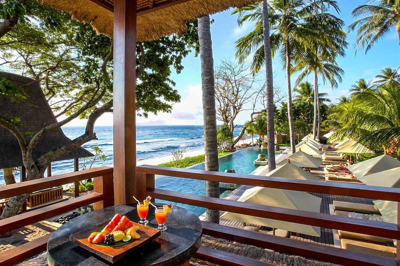Qunci Villas Boutique Hotel Villas In Senggigi Lombok Ocean View Hotel Lombok Boutique Hotel