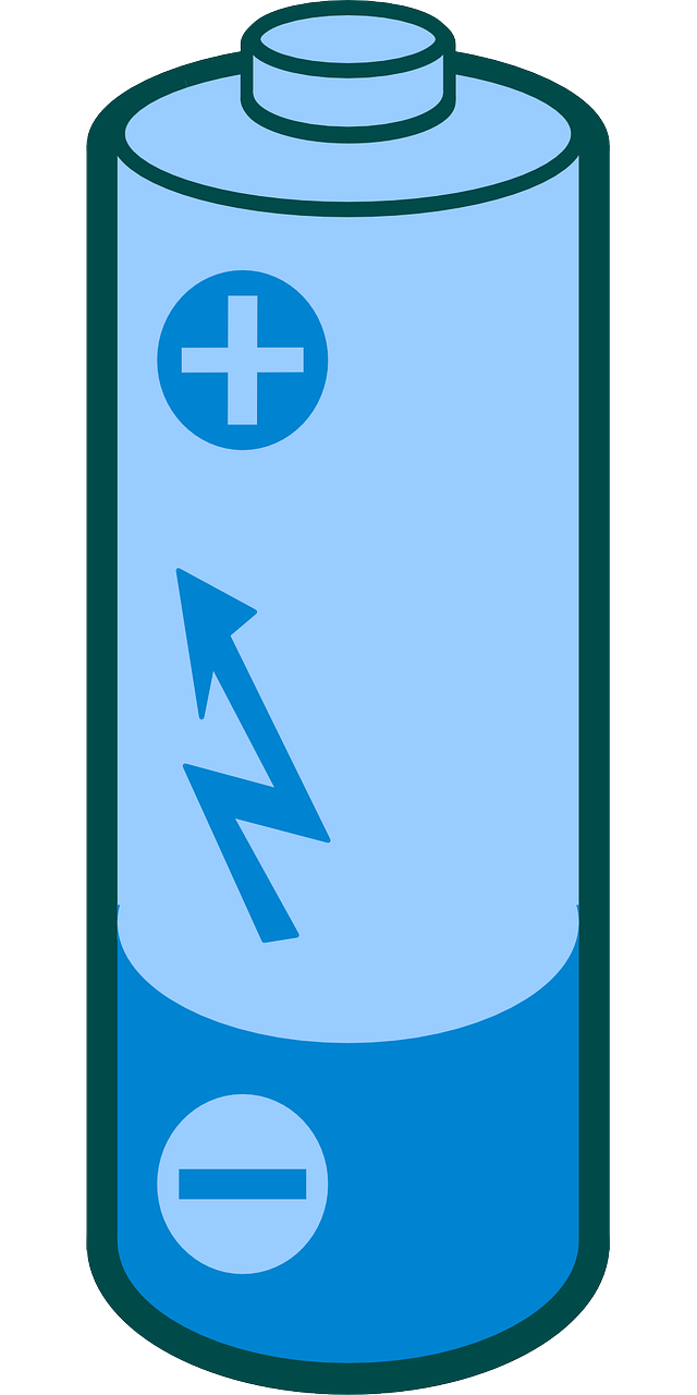 Battery Energy Power Cell transparent image