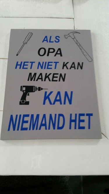 Bekend Vader/Opa dag cadeau | The O's | Pinterest | Dads, Fathers day and Mom #NJ96