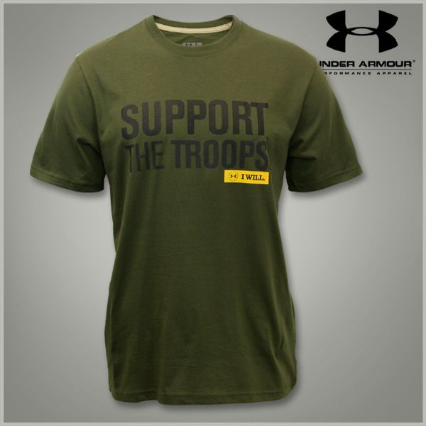 Under Armour Support The Troops Tee My Dream Closet Pinterest