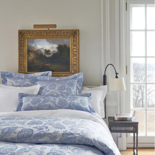 Introducing Annie Selke Luxe Damask bedding, Duvet
