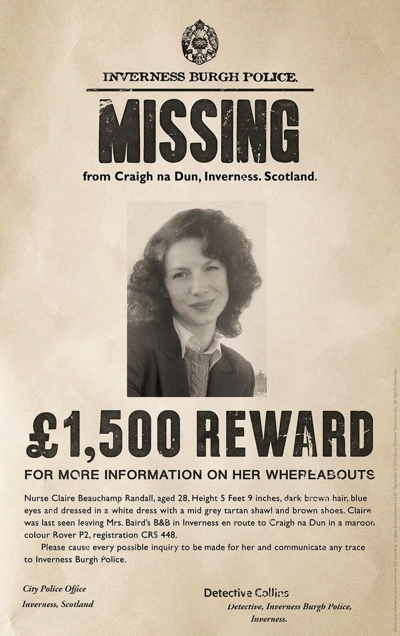 Starz Original Tv Series Outlander Whereisclaire Missing