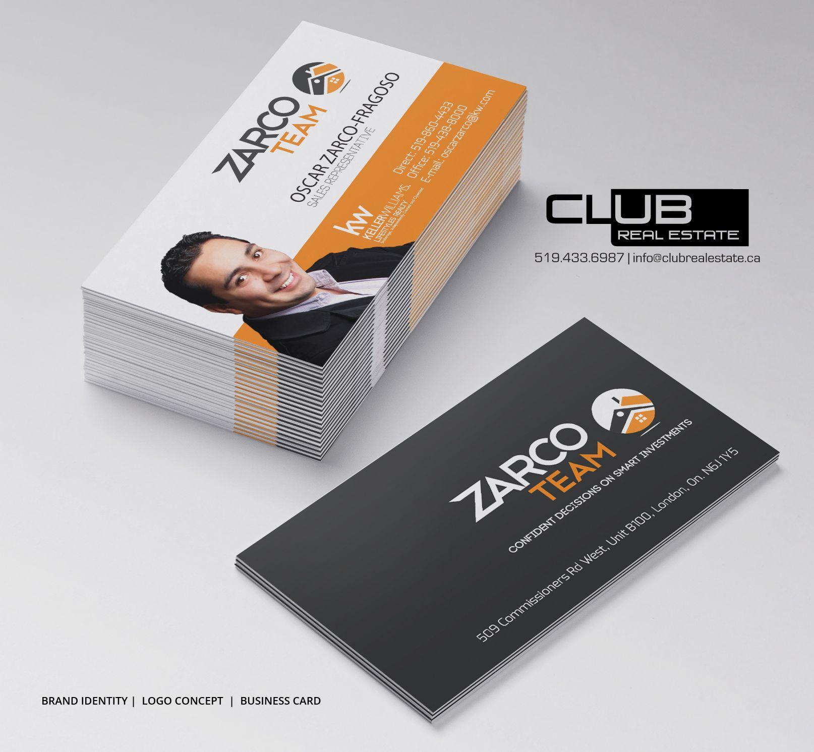 Custom Designed Business Cards - Club Real Estate | Real Estate ...