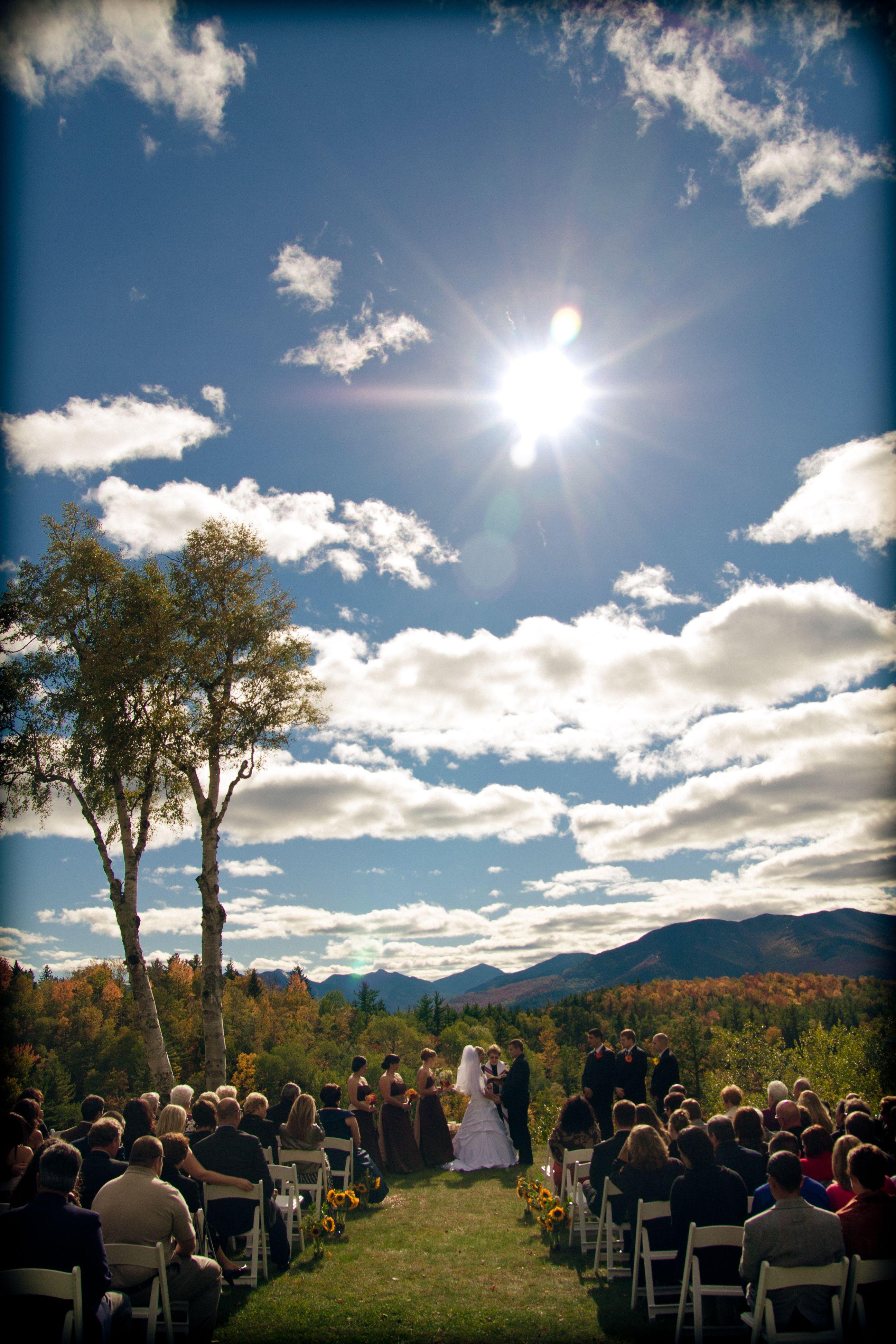 My Adirondack wedding! this looks like where my parents