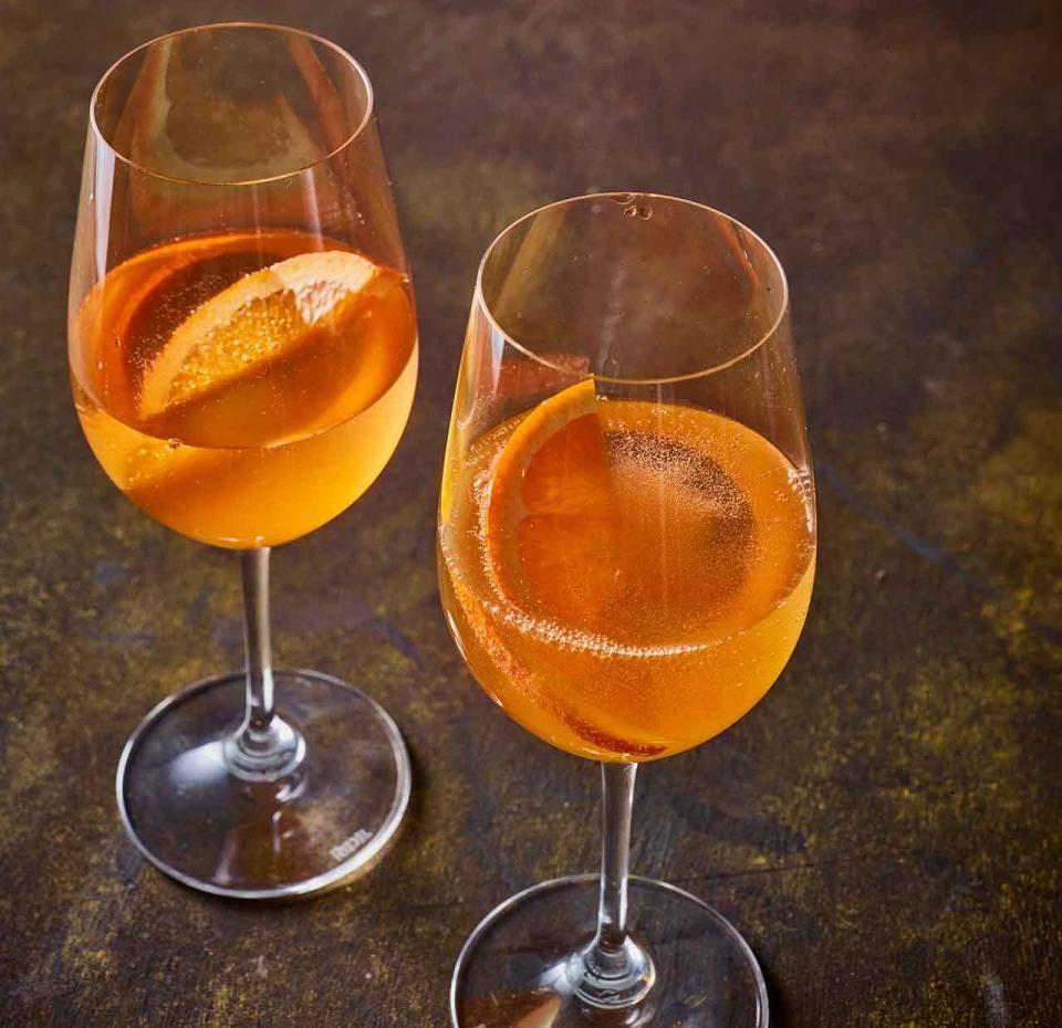 Maracuja-Spritz Rezept #alcoholicpartydrinks