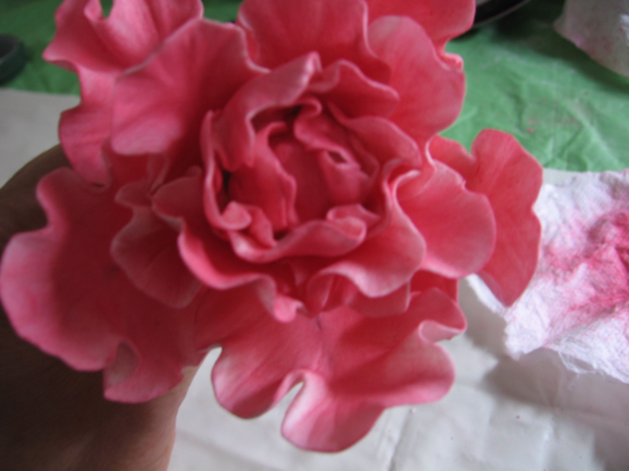 Inexpensive cutters for roses peony and calla lily by sweettooth101 tutorial for making gumpaste flowers izmirmasajfo