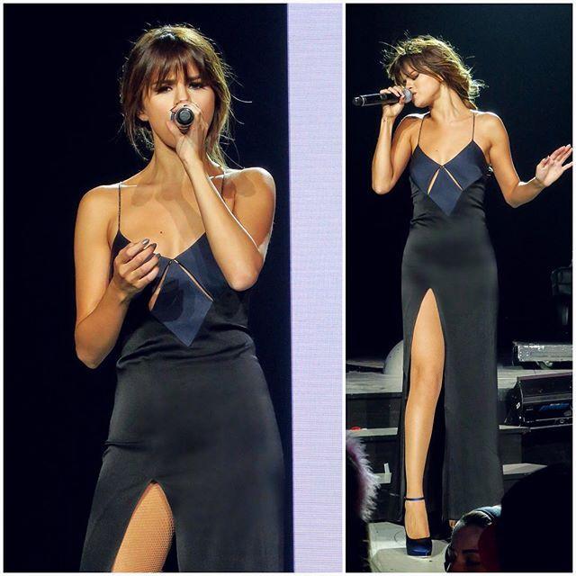 Selena Gomez wearing Galvan