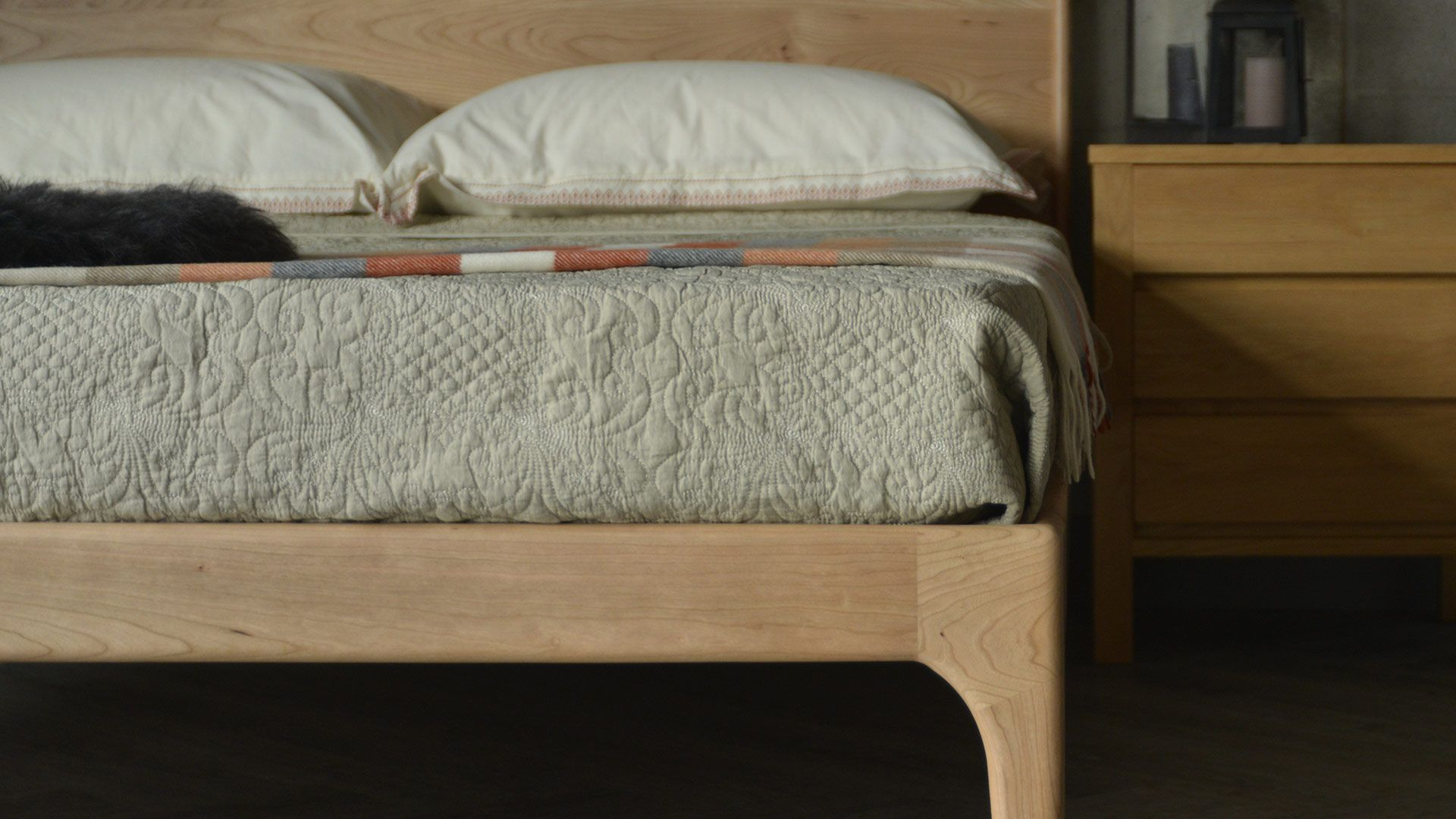 Pimlico Low Handmade Bed Bed Wood Beds Bed Company