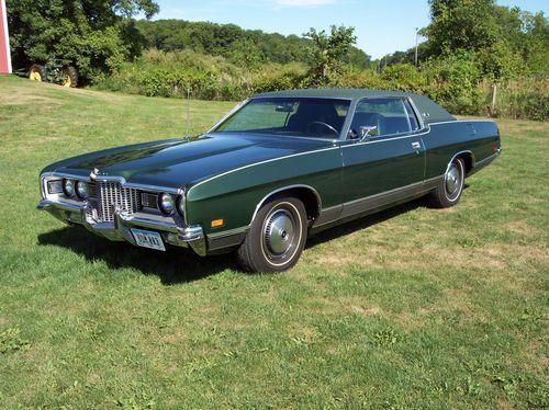 1971 71 Ford Ltd Brougham 2 Door Hardtop 429 14900 Original Miles