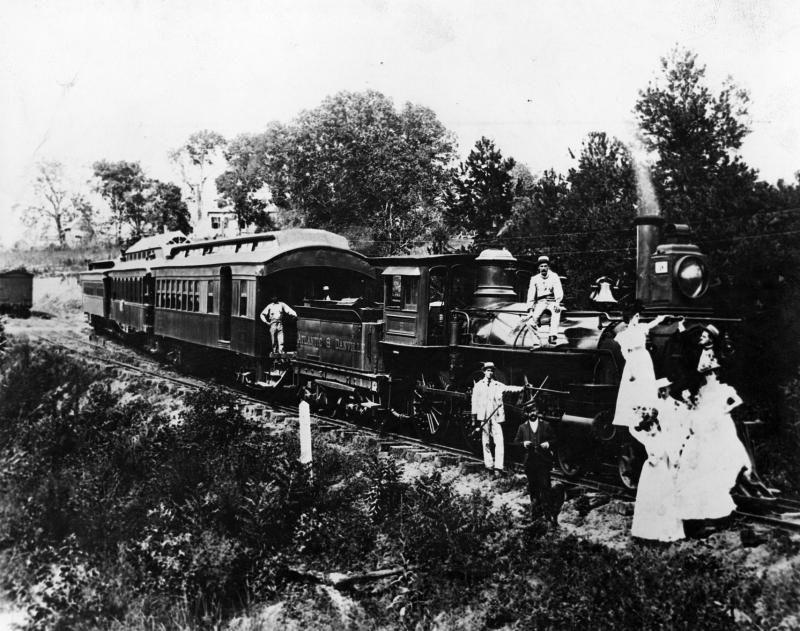 Rail road to buffalo springs va springs buffalo railroad