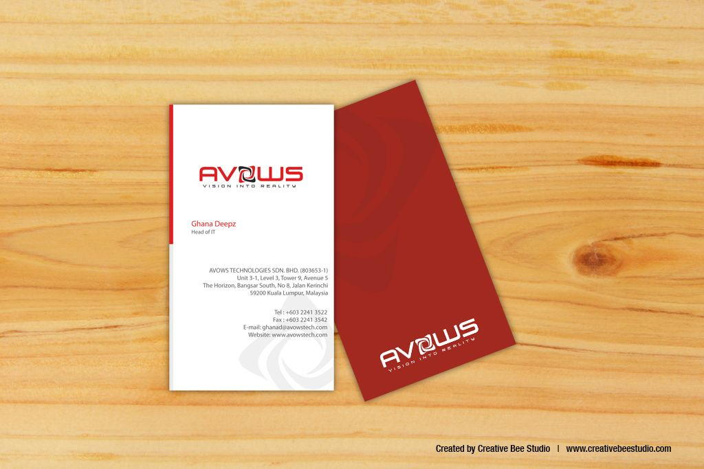 Business Card Design For Hr Consultant Company Business Card Design Corporate Business Card Design Card Design