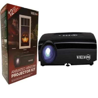 Seasonal Window Fx Projector Animated