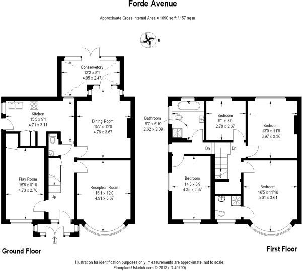 Image Result For 2 Story Side Extension 3 Bed Semi Detached Floor Plans House Extension Design House Extension Plans House Plans Uk