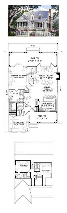 Sq ft cape cod house plan total living area also best home plans images on pinterest construction rh