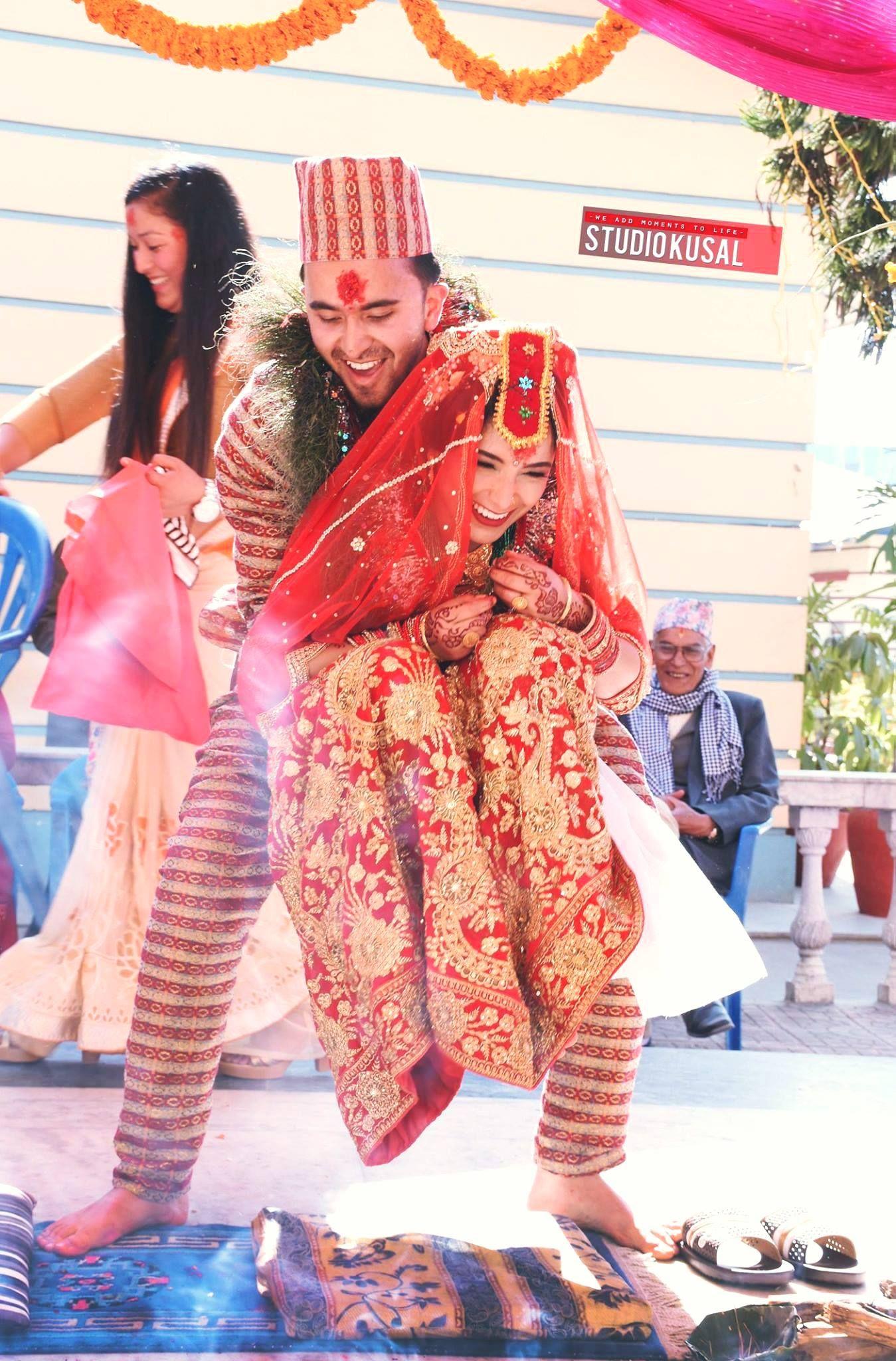 nepali wedding tradition bride groom Nepali wedding Pinterest