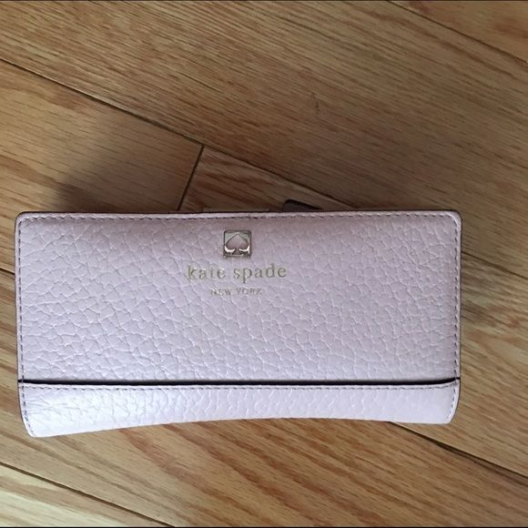 EUC authentic dusty pink Kate spade wallet Gorgeous wallet Kate spade. Don't miss out  no trades kate spade Accessories Watches