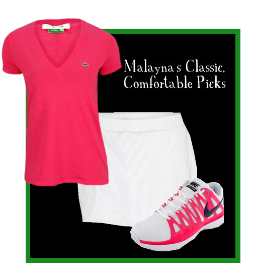 Malayna's classic yet comfortable look!