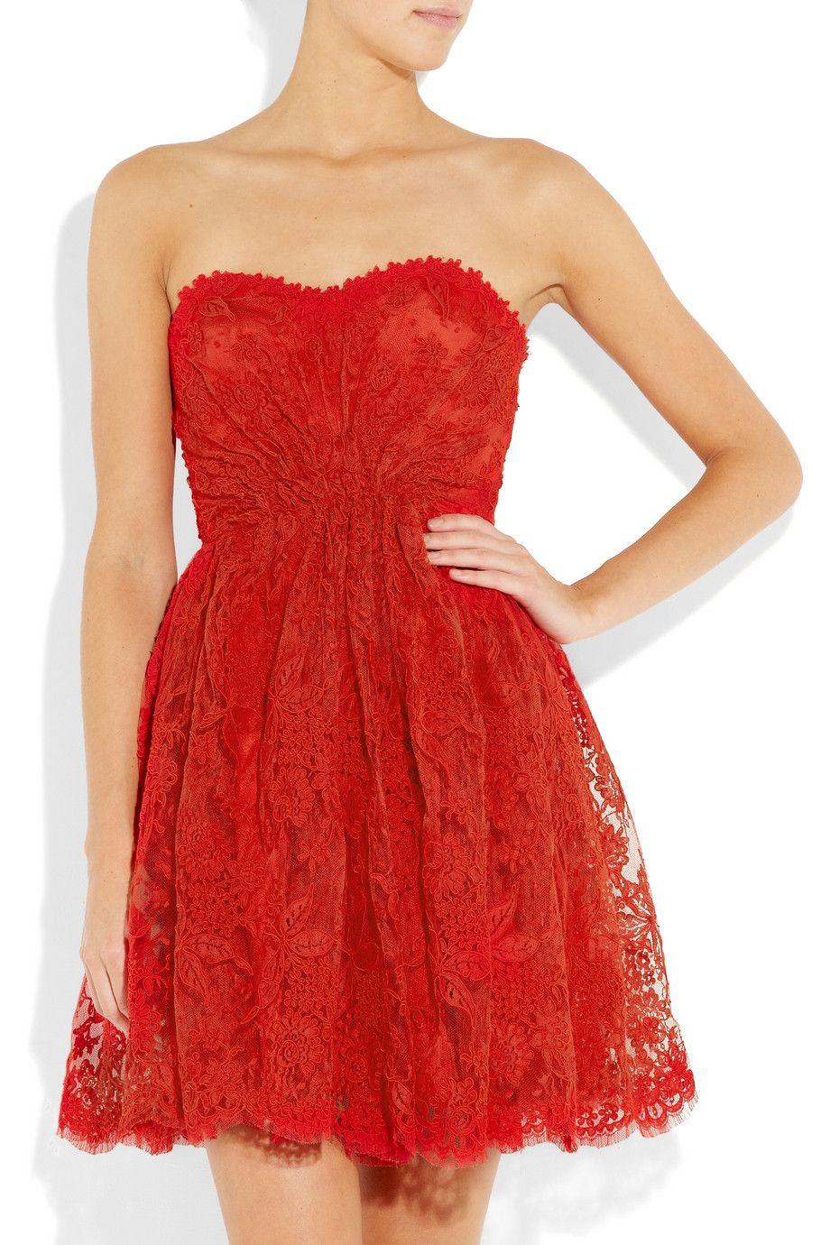 Issa Lace Strapless dress. Valentine\'s Day Dinner dress   Fashion ...