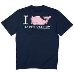 I Whaley Happy Valley Tee from Vineyard Vines