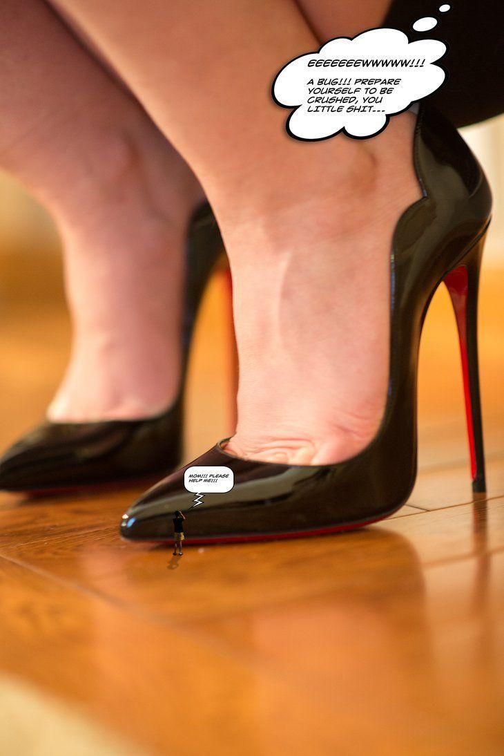 high heels crush