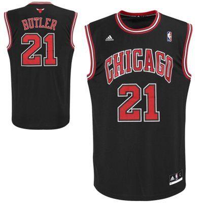 quality design 93ebe ce61a adidas Jimmy Butler Chicago Bulls Revolution 30 Road Replica ...