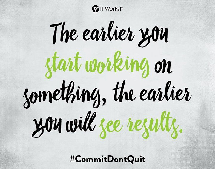 Stop waiting and start GOING! Work hard see results. #CommitDontQuit - http://ift.tt/1HQJd81