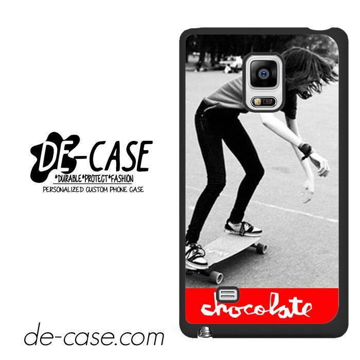 Chocolate Skateboard DEAL-2574 Samsung Phonecase Cover For Samsung Galaxy Note Edge