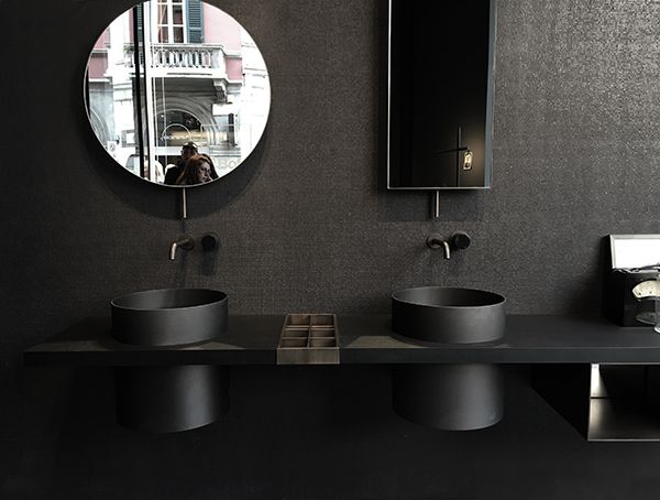 BLACK BOFFI BATHROOM Milano L Examples Of Evidence Of The - Boffi bathroom
