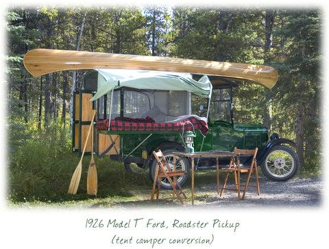Model T Ford Campers Trailers Model T Camper Tent Campers