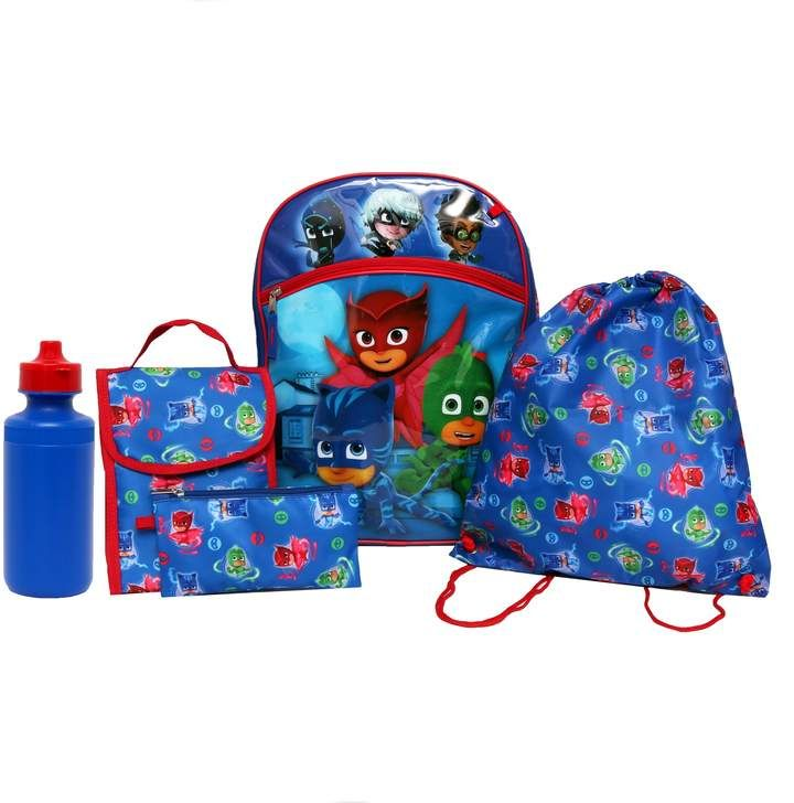 Incredibles 2 Backpack Kids 5 PC Lunch Box Water Bottle Cinch Bag School Set