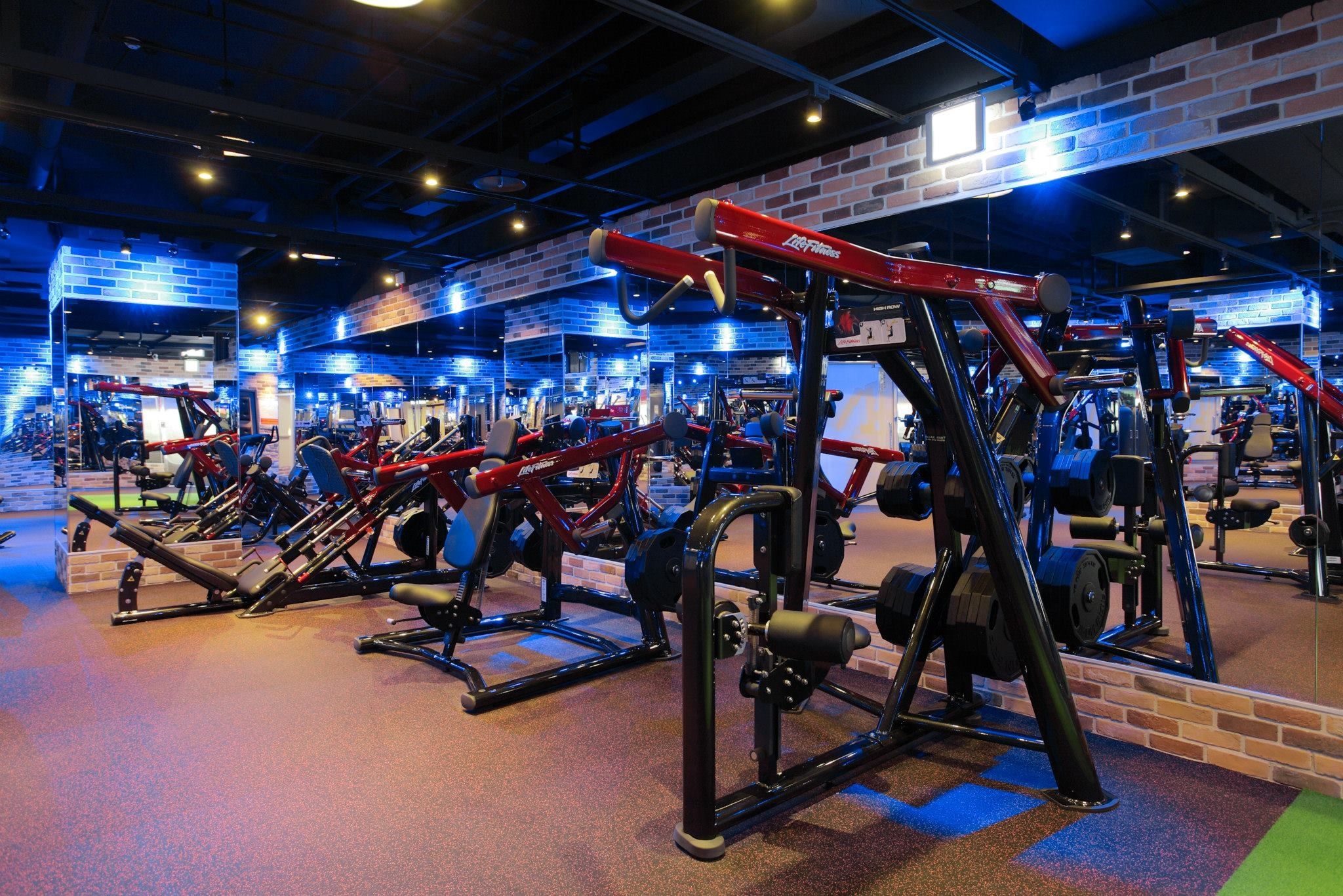 Neoflex Rubber Fitness Flooring Fitness Factory, Taiwan