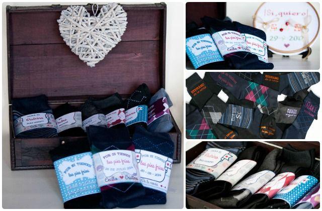 Calcetines de novio personalizados detalles - Calcetines de navidad personalizados ...