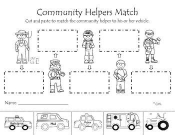coloring pages lesson plan our community   Pin on Community helpers