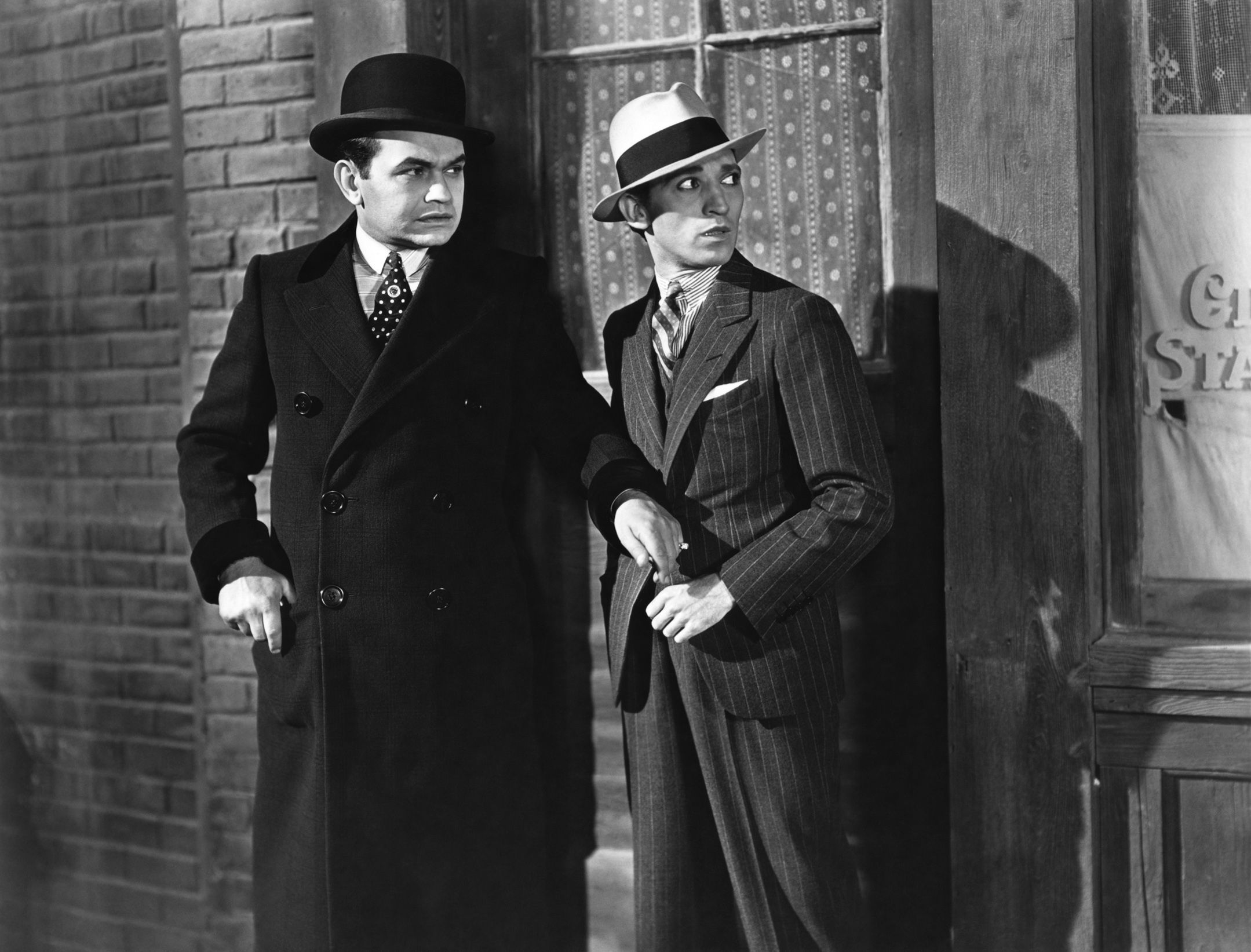 Best ideas about Edward G Robinson on Pinterest   James cagney     cineCollage Worcester  Massachusetts police inspected Little Caesar and Public Enemy at  the city s Warner Theatre and ordered several deletions before the