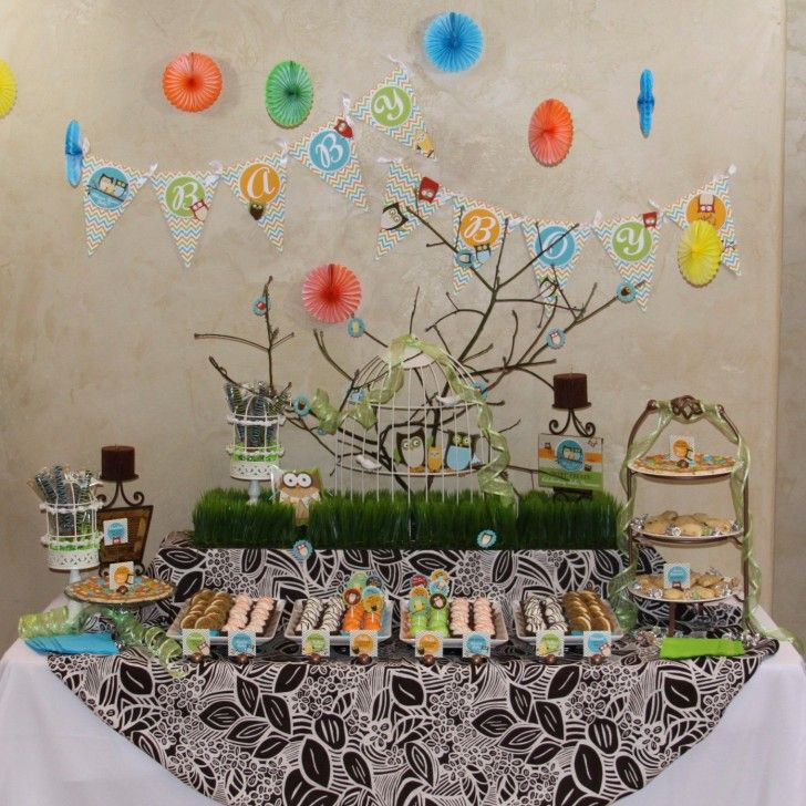 Baby Shower Decorations Ideas Owl Themed Baby Shower Decorations