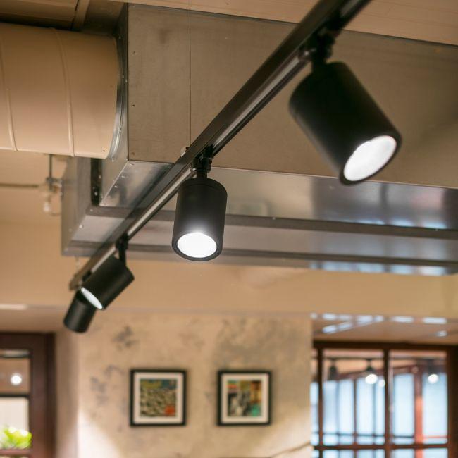 Rails Boxy De Chez Deltalight Spots Noirs Deco Salle De Bain Luminaire Eclairage De Couloir
