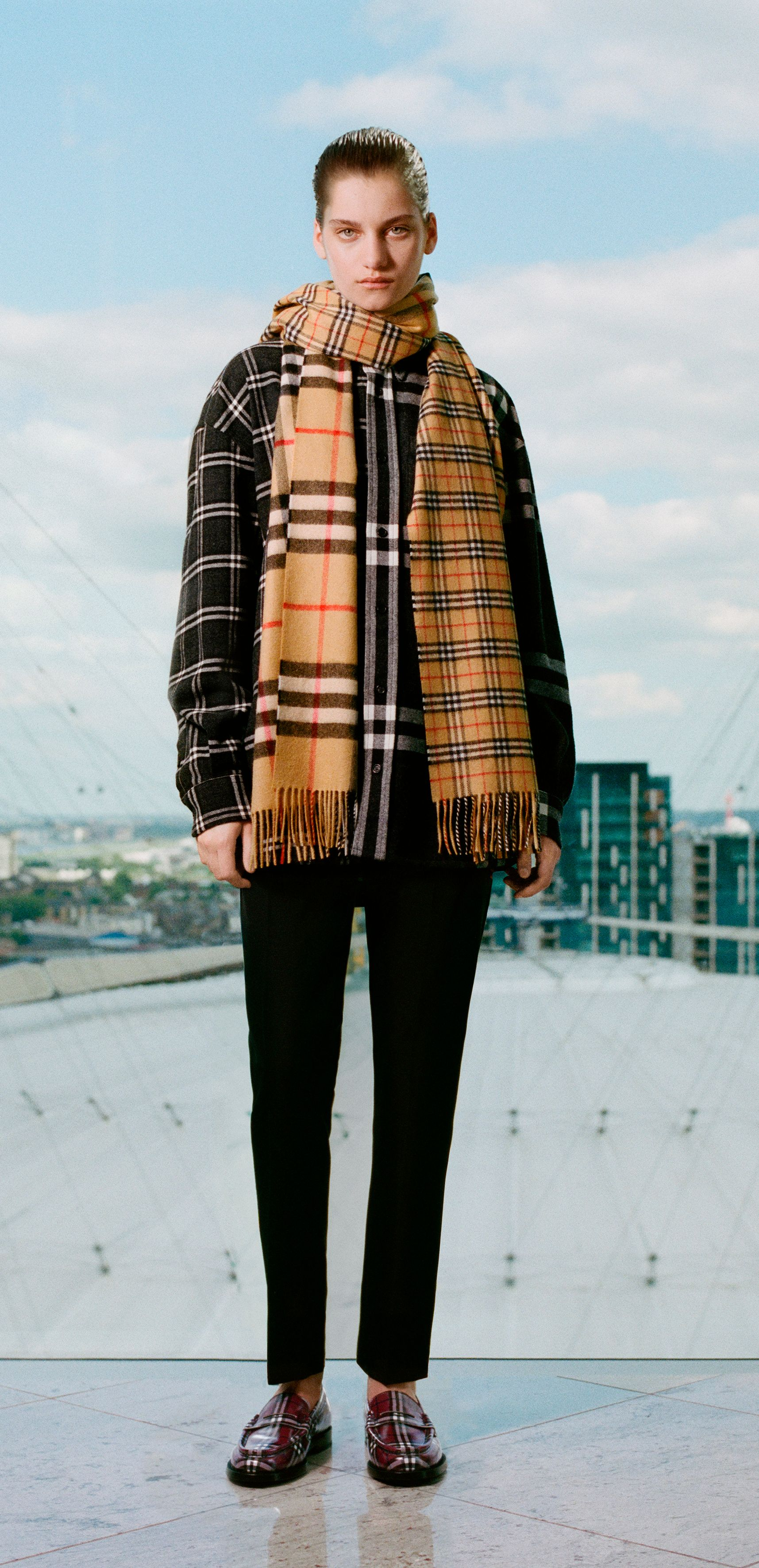 19c5b8e3c0a Explore  GoshaRubchinskiy s second collaboration with  Burberry as he  celebrates our outerwear icons and the  Burberry check