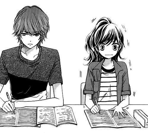 Image de manga, anime, and love