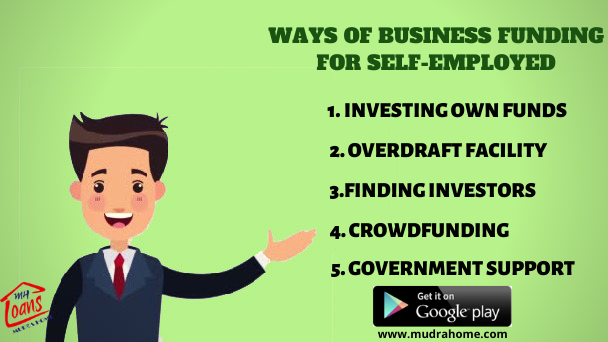 7 Ways of Business Funding for SelfEmployed Business