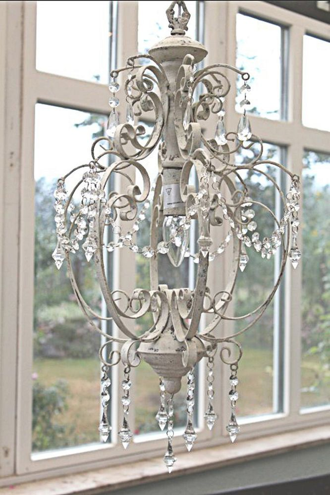 Attraktiv Lampe Antik Weiu0026szlig;. Key2u0026#x3a; Deckenlampe Shabby. Von Chic Antique.