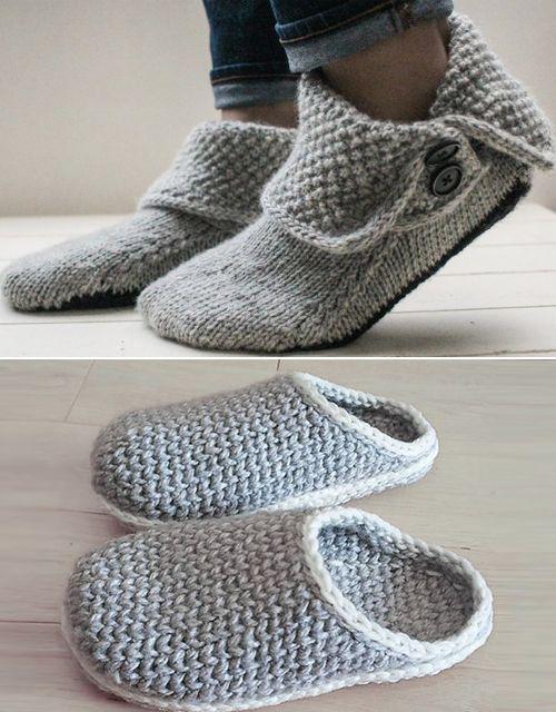 Super Slipper Patterns Shortlist   Amazing Knitting ...