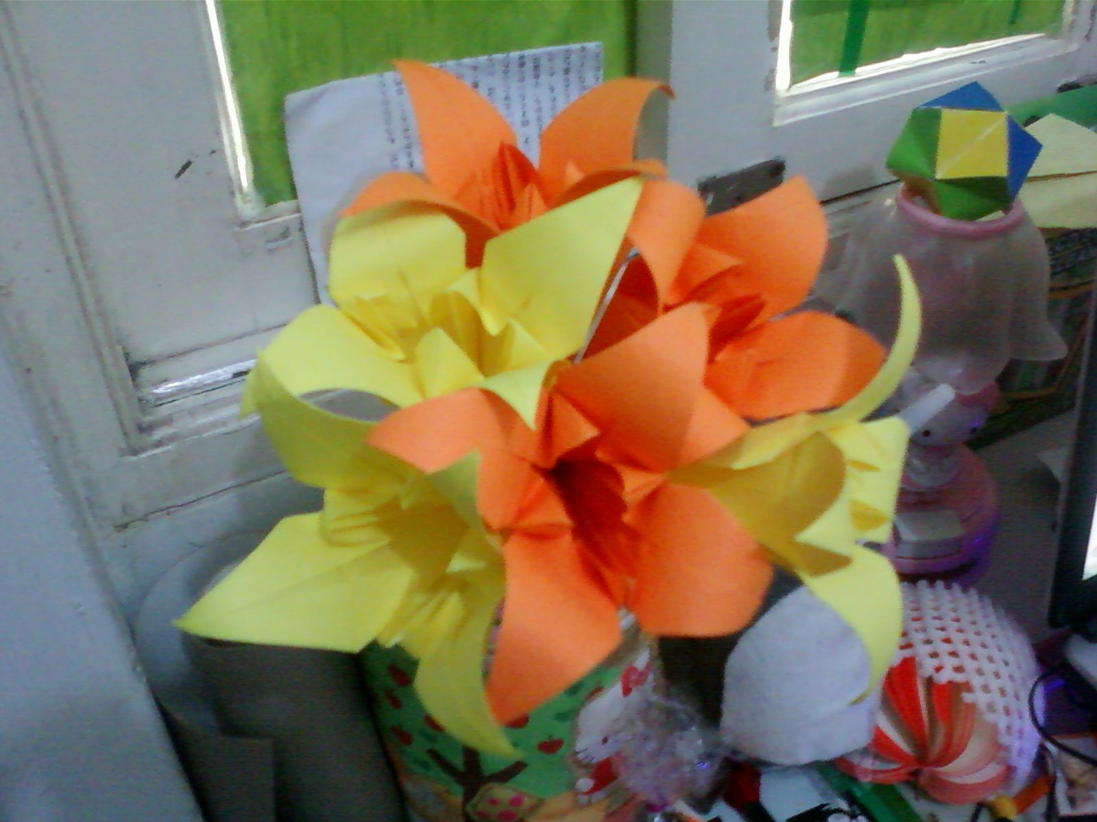 a bouquet of lily origami flower~