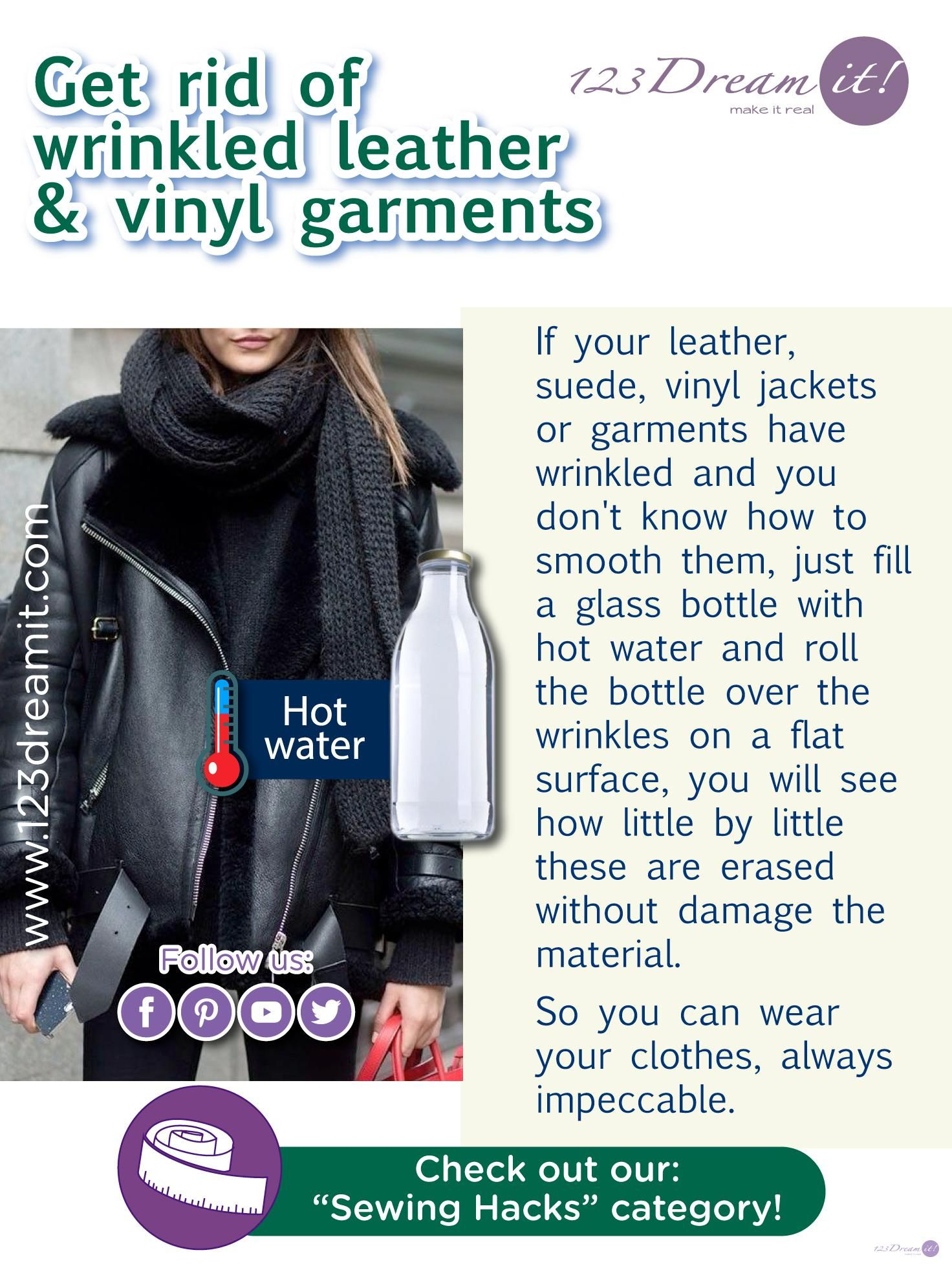 How To Get Rid Of Wrinkles In Leather Jacket
