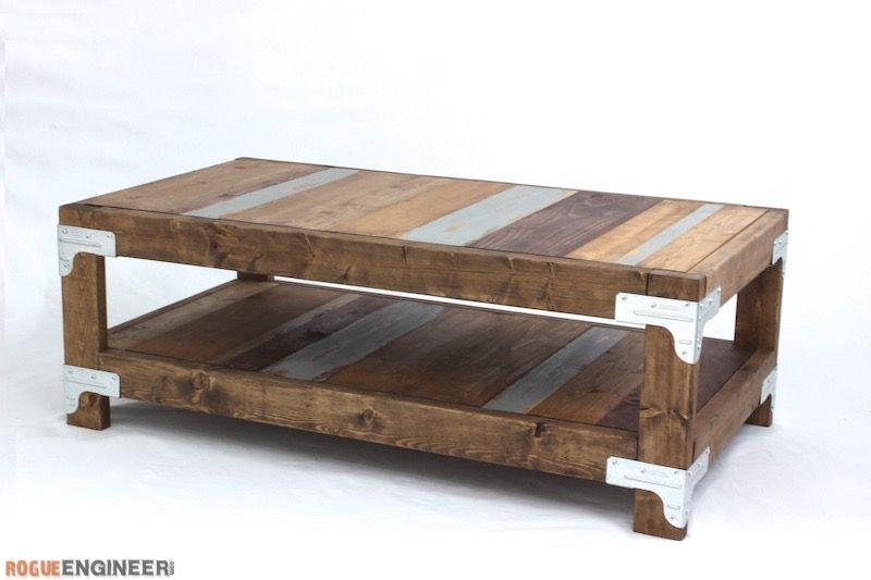 Industrial Coffee Table Diy Coffee Table Plans Diy Furniture Plans Diy Furniture Easy