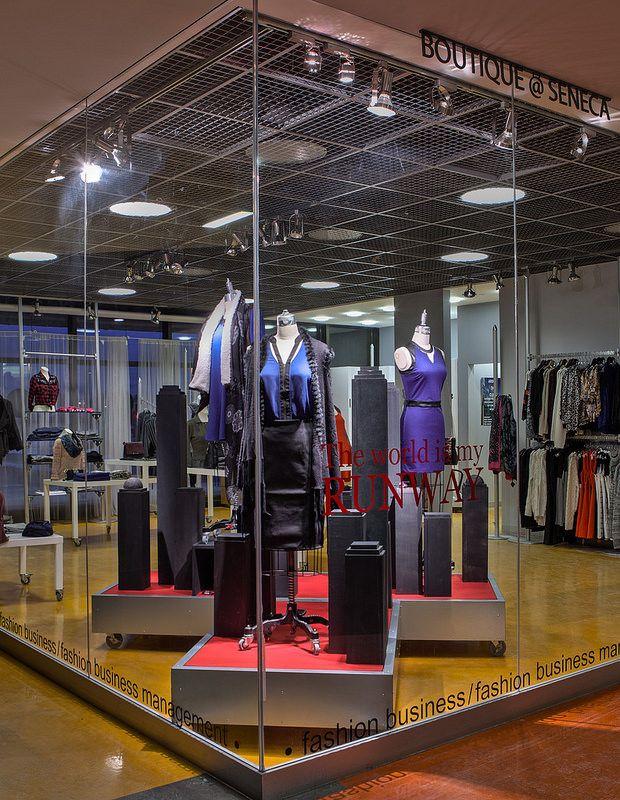 Home Fashion Themed Window Displays 2014. Visual Merchandising Arts, the School of Fashion at Seneca College.