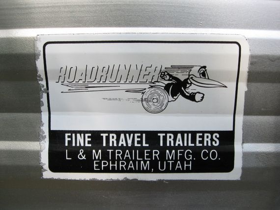 Pic Of The Roadrunner Decals In Vintage Trailer Discussion