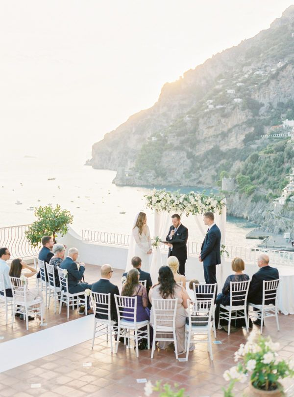 Intimate Positano Wedding at Marincanto Hotel (with a Boat Ride!)