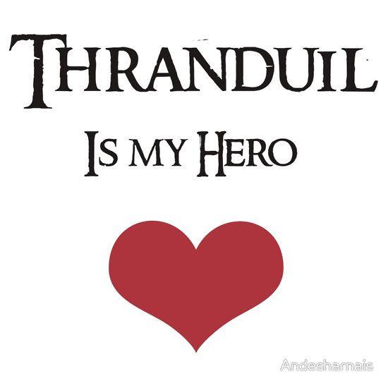 Thranduil is my Hero by Andesharnais