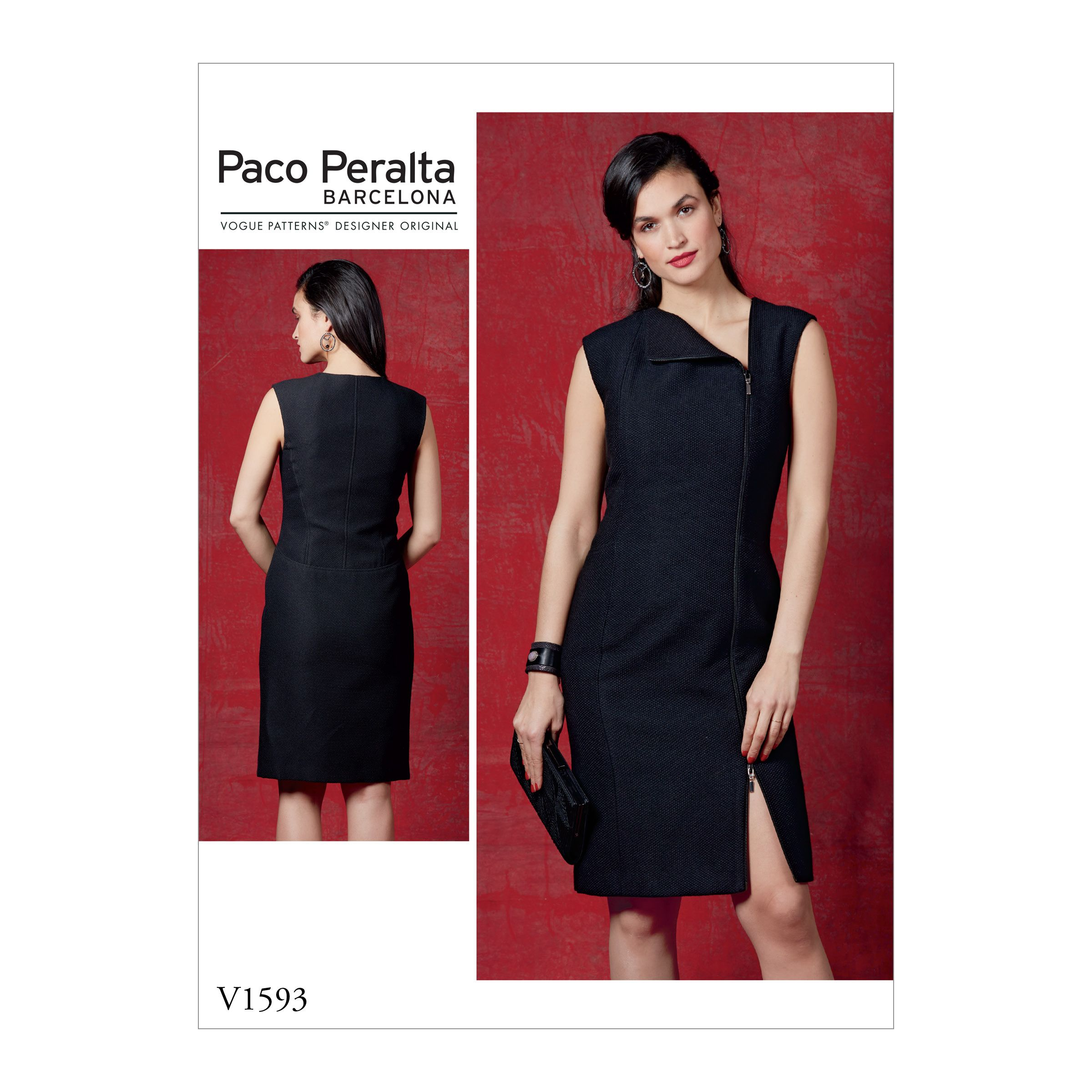 Vogue Patterns Sewing Pattern Misses  Dress-14-16-18-20-22  a001f529e