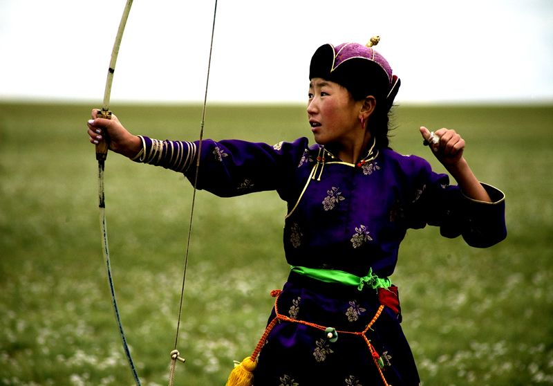 most of the mongolian girls i know are pretty fierce.